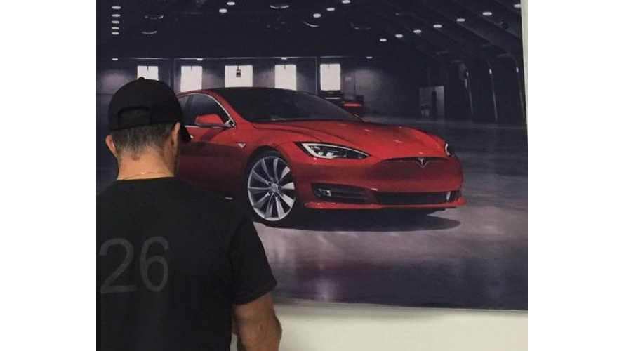Tesla Model S With Refreshed Front End Debuts