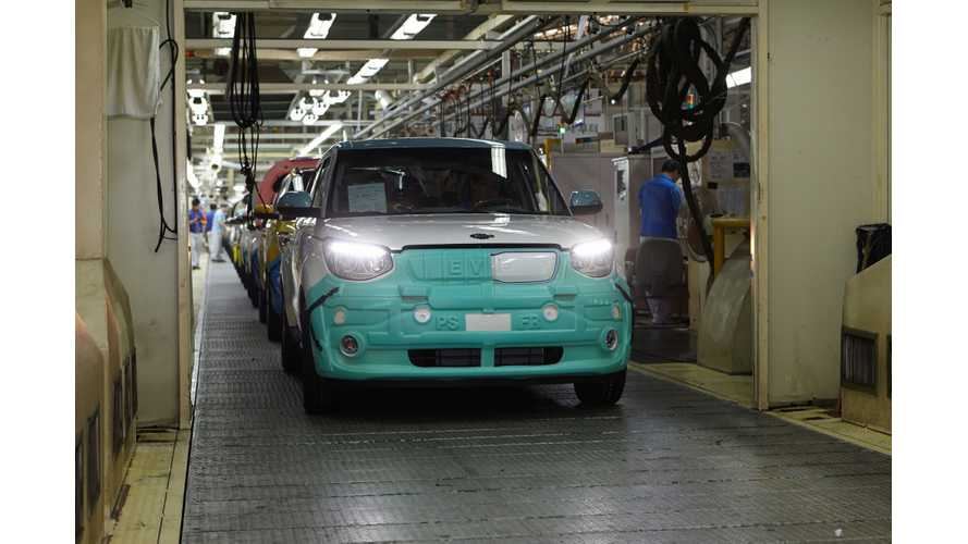 Photos/Video From Kia Soul EV Production