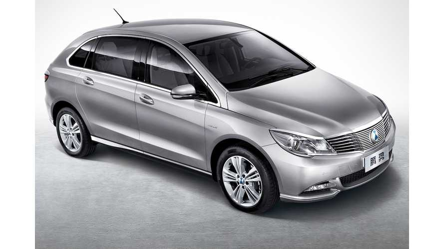 Daimler-BYD Builds The EV America Wants - For China; 190 Miles Range, $40,000 DENZA