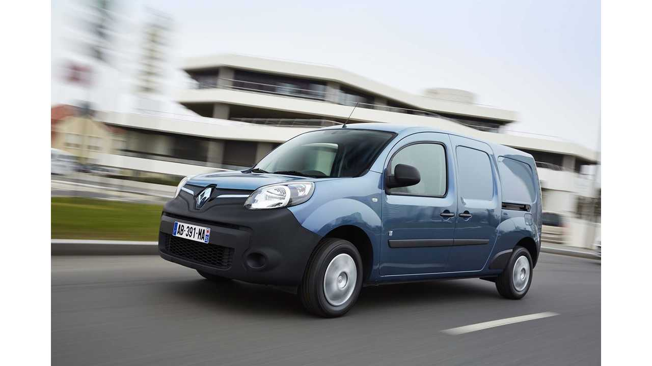 Renault Kangoo Z.E. & Gravity Light Featured In Fully Charged