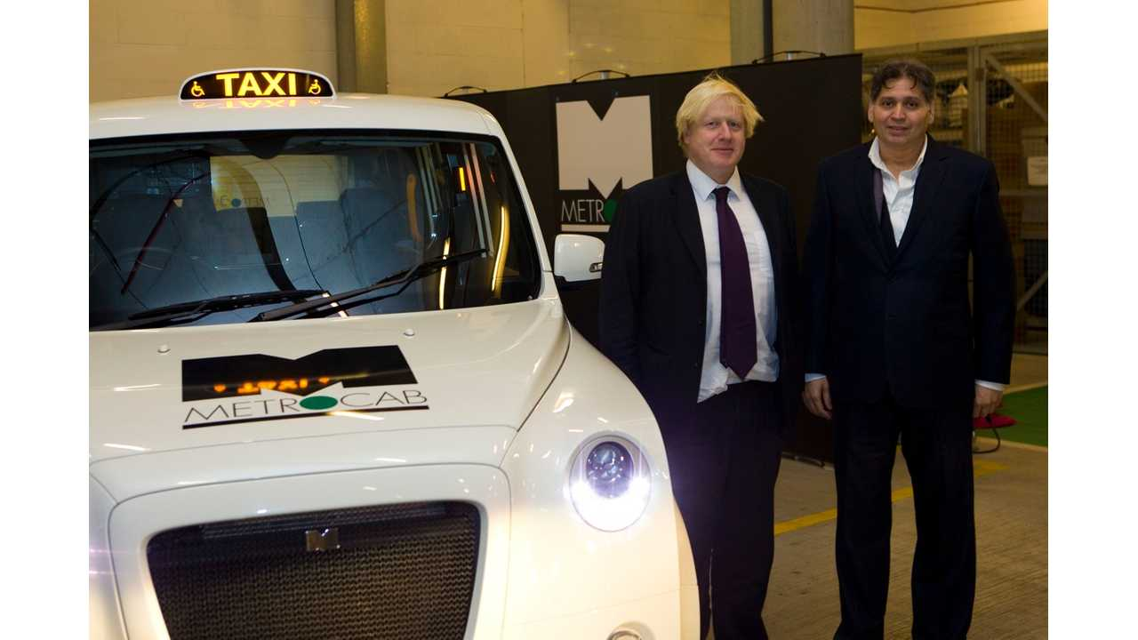 London Mayor Will Double The Congestion Charge - Plug-In Vehicles To Win Big