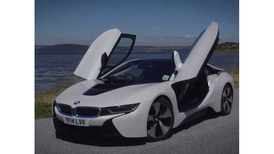Autocar Drives BMW i8 - Video