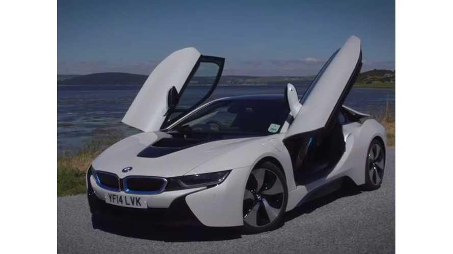 Autocar Drives BMW i8 - Video