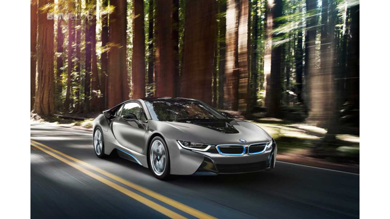 First U.S. BMW i8, A One-Of-A-Kind Concours d'Elegance Edition, Will Be Auctioned Off Next Month
