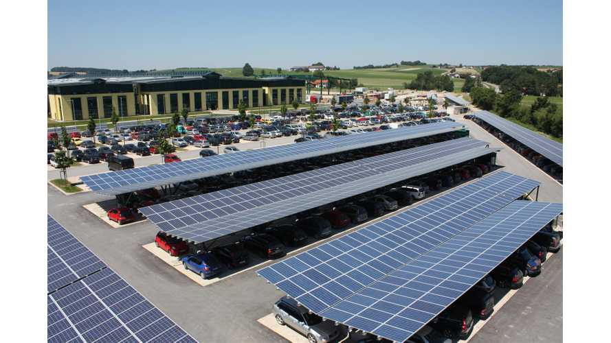 The Solar Parking Lot Of The Future Has Arrived