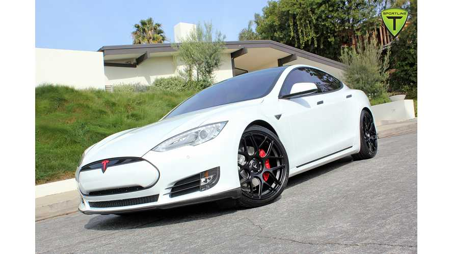 TSportline Introduces World's First Aftermarket Tesla Model S Sport