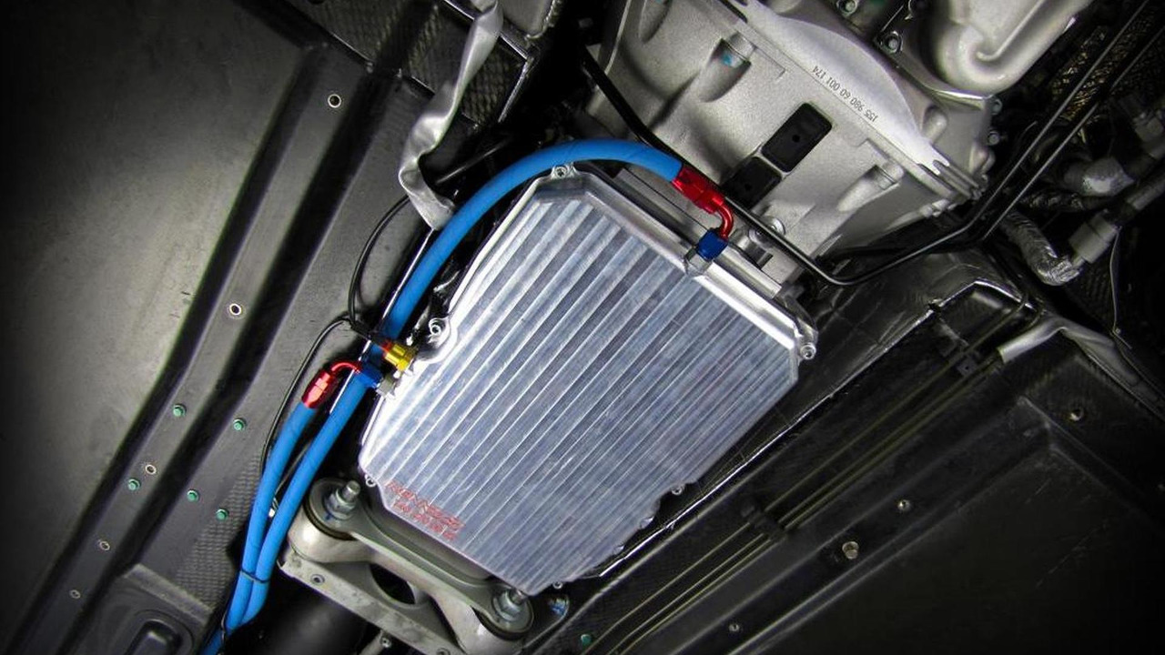 RENNtech SLR transmission cooler, 800, 27.10.2011