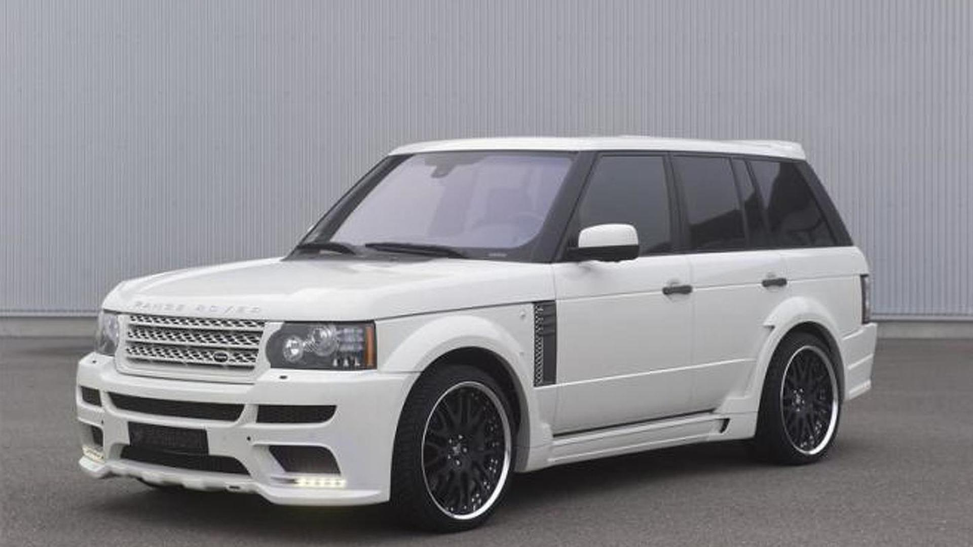 Range Rover 5 0i V8 Supercharged By Hamann