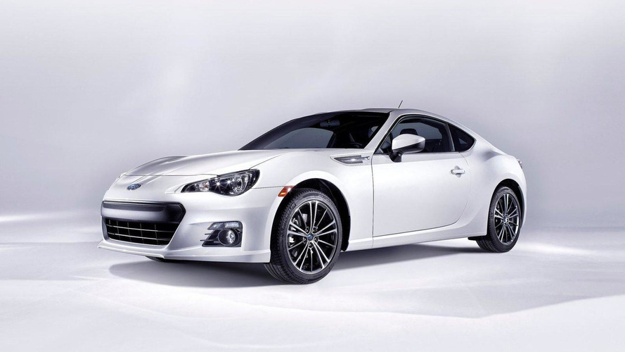 Subaru BRZ revealed in full production form