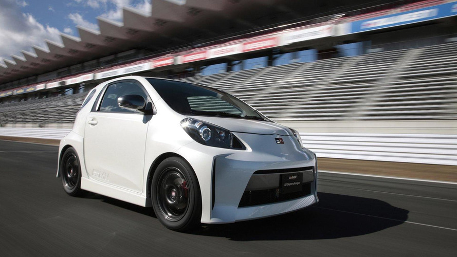 Revised GRMN iQ Supercharged appears at Tokyo Auto Salon 2012