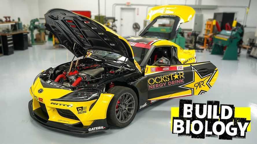 Elkészült az ezer lóerős, driftelésre szakosodott Toyota Supra
