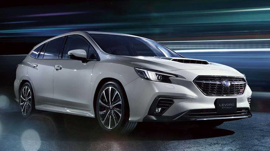Subaru Levorg (2021) enthüllt, könnte auf Design des neuen WRX STI hindeuten