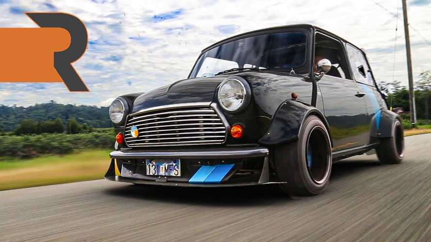 This Mid-Engined Mini Hides A Kawasaki Ninja ZX-10R Engine