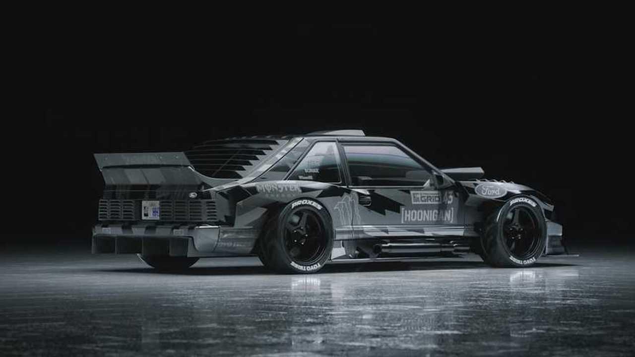 Ken Block Hoonifox Ford Mustang