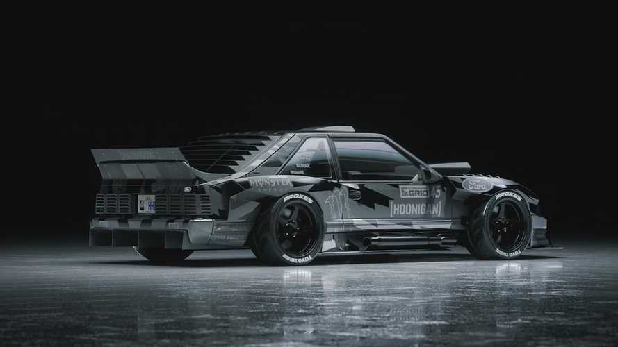 Ken Block svela la sua nuova Mustang da drift