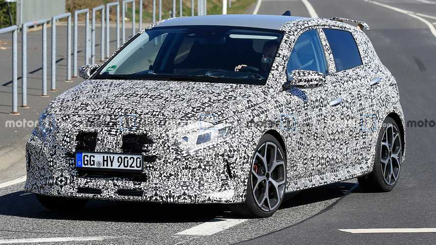 2021 Hyundai i20 N Spied In Action With Less Camo, Sounds Great