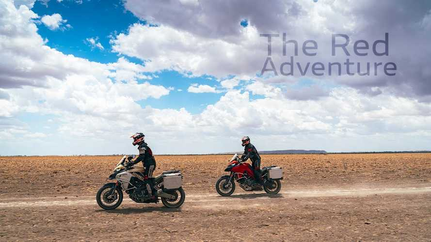 Ducati Multistradas In The Australian Outback Is The ADV Escape We Need