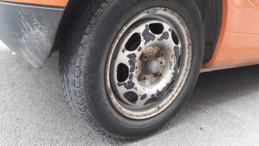 Alter Reifen