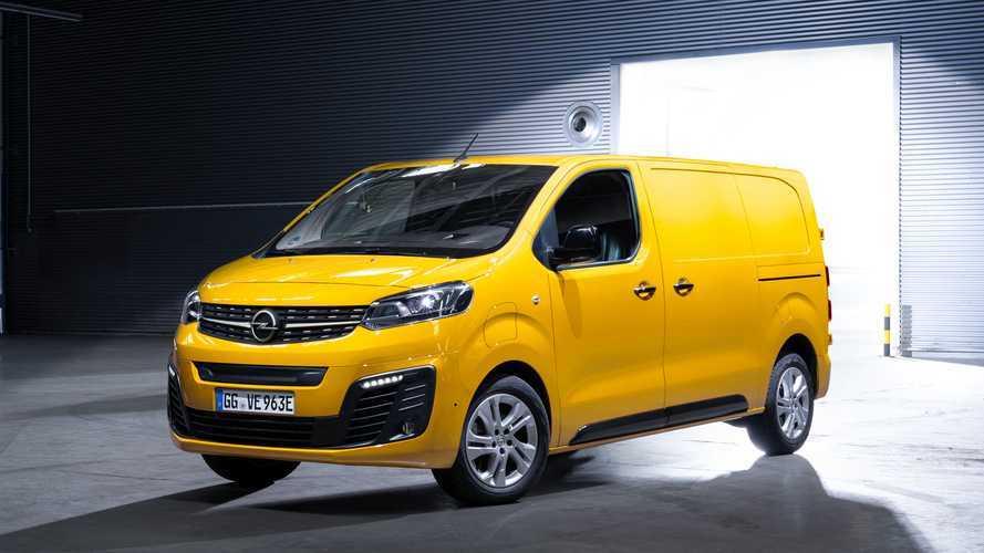 Arriva l'Opel Vivaro-e, il primo furgone elettrico del brand
