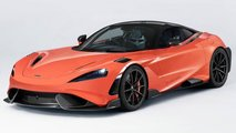 Front-Engine McLaren 765LT Rendering by J.B.Cars