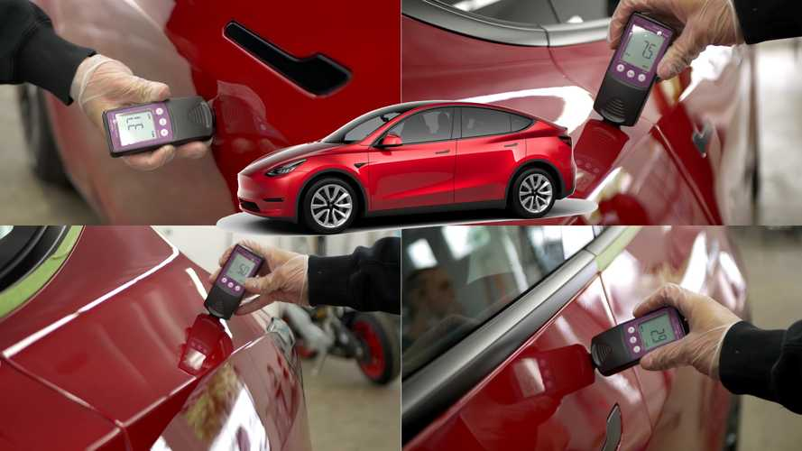 Detailers Show Tesla Model Y Paint Is As Thin And Defective As Model 3