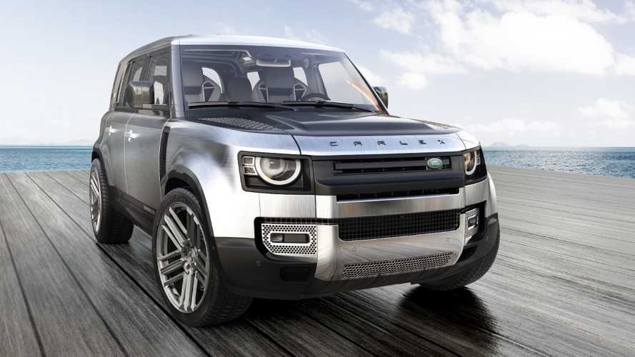 Land Rover Defender Gets Yachting Treatment From Carlex Design