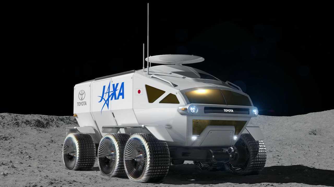 Tiro anteriore Toyota Lunar Cruiser