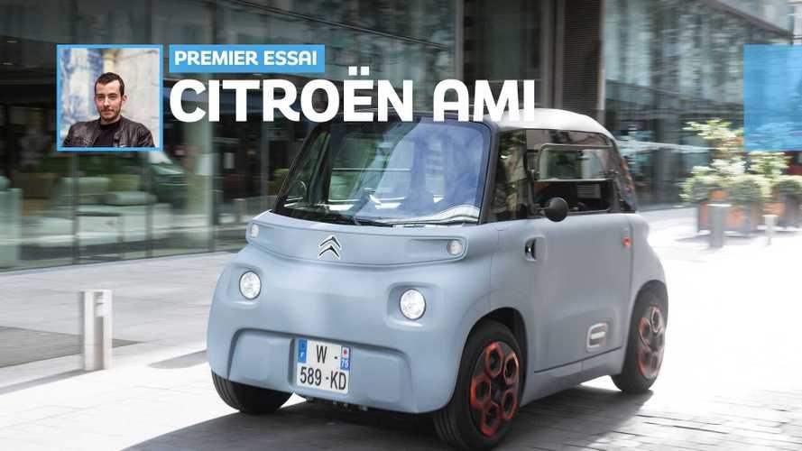Essai Citroën Ami (2020) - Les bons comptes font-ils une bonne Ami ?