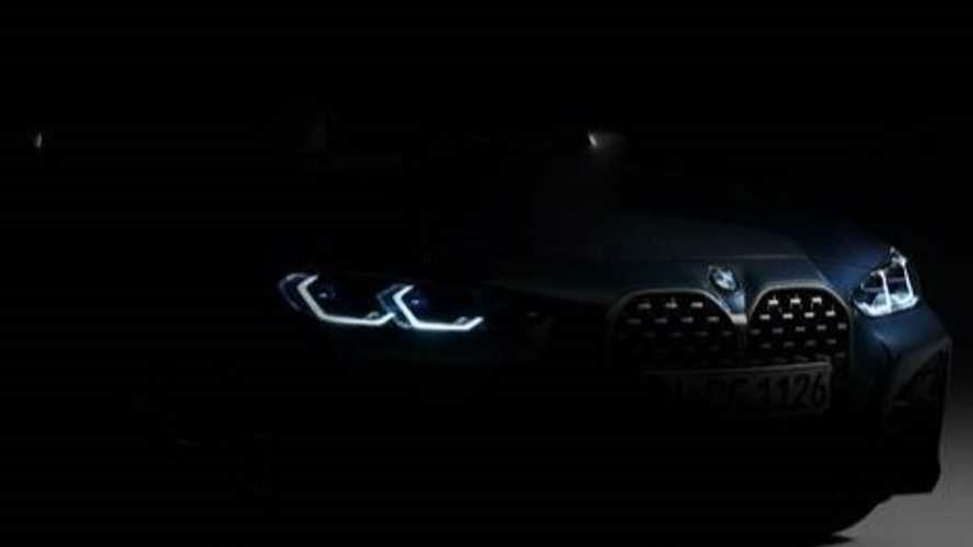 2021 BMW 4 Series teased, debuts 2 June, big grille and all