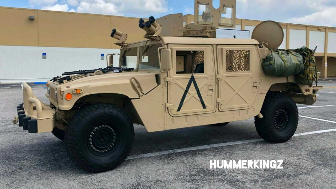 Military-spec 2002 Hummer H1 for sale