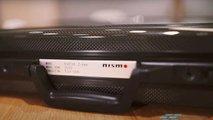 Nissan Skyline GT-R R34 Nismo Z-Tune Carbon Fiber Briefcase