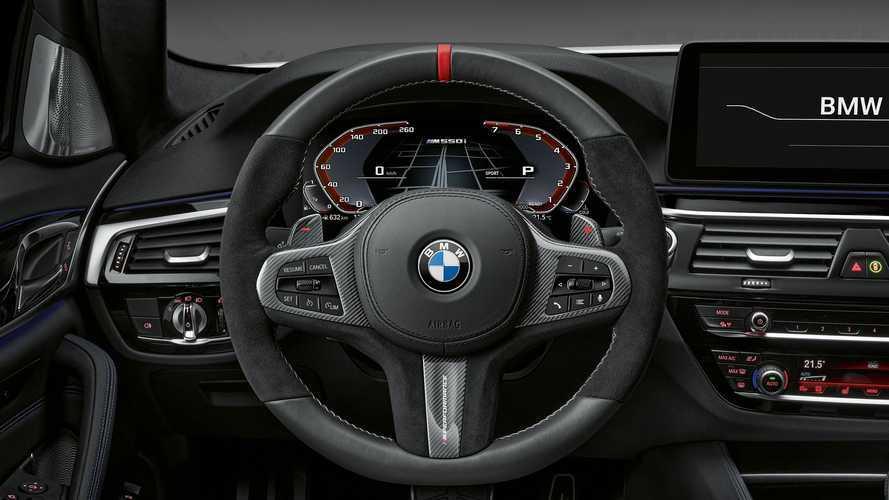 BMW Serie 5, ancora più cattiva con gli accessori M Performance Parts