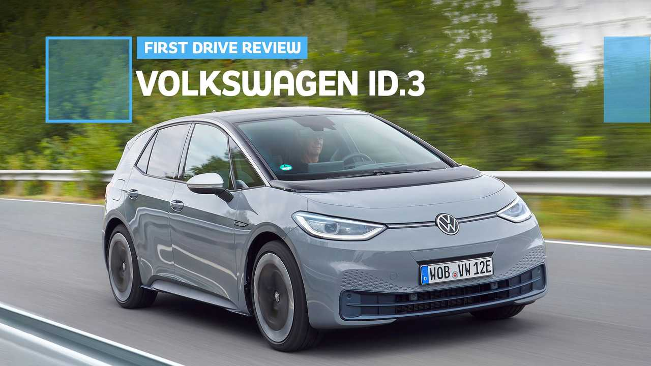 Volkswagen ID.3 First Drive Review