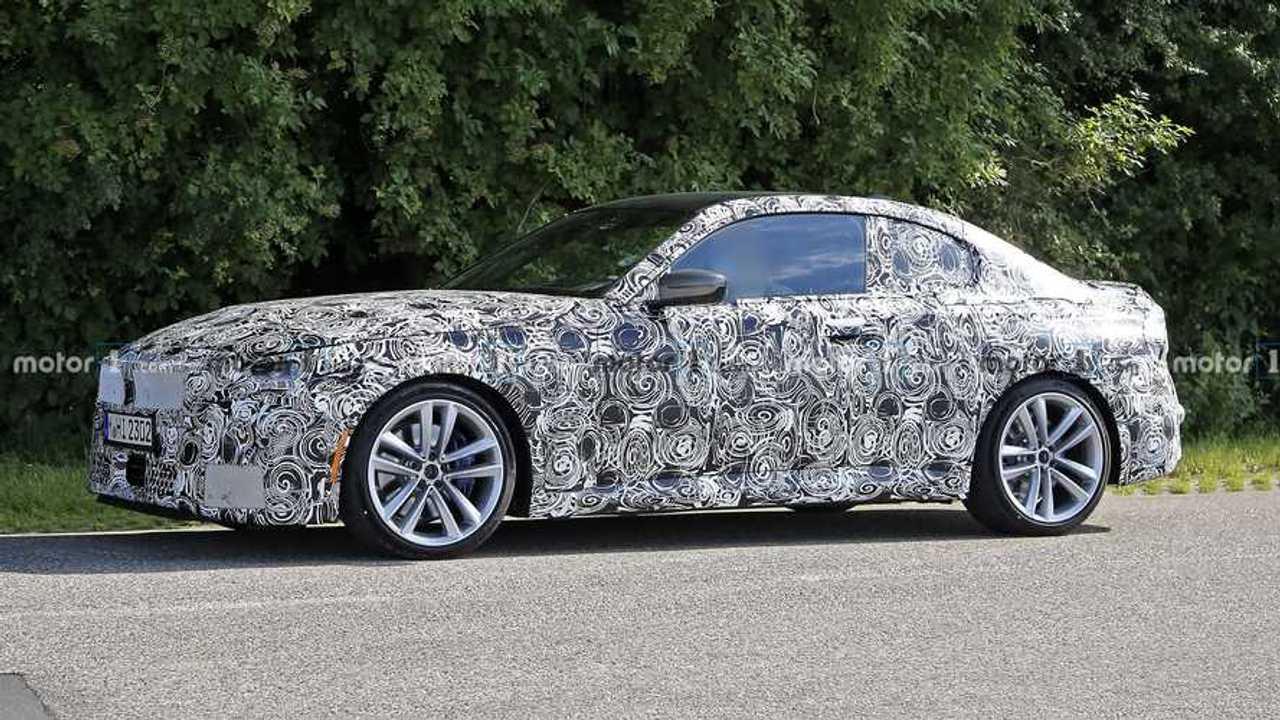 BMW Serie 2 Coupé 2021, fotos espía