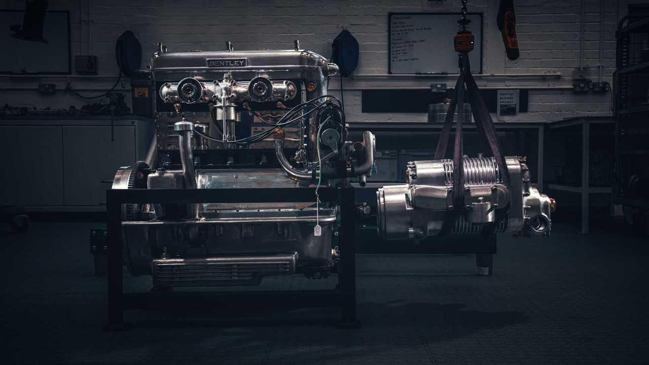 Bentley Blower Continuation Series - двигатель