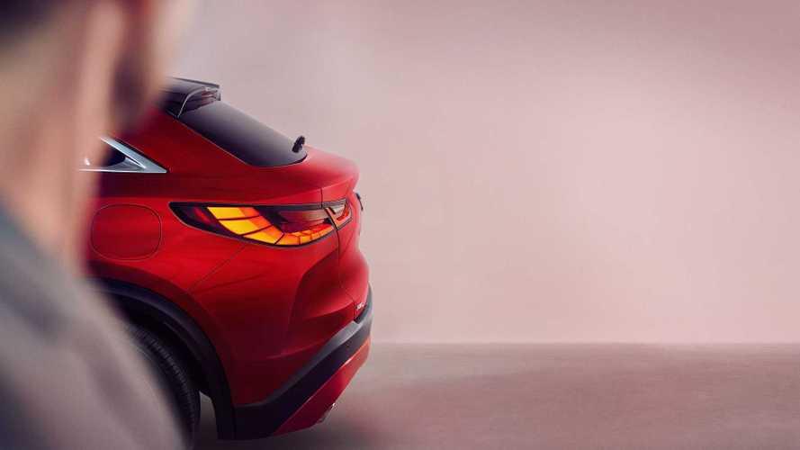 2021 Infiniti QX55 'Coupe' Teased Again, Debuts In November