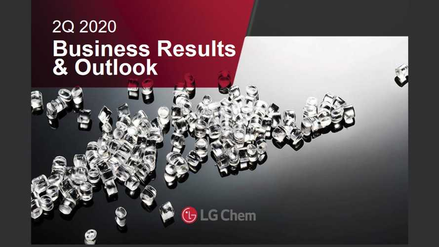 LG Chem Noted Record Battery Sales And Decent Profit In Q2 2020