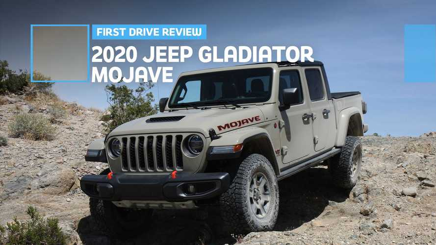 2020 Jeep Gladiator Mojave First Drive Review Dustbuster