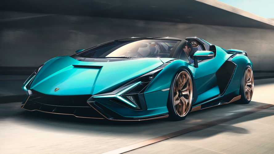 Lamborghini Sián Roadster, poderoso, exclusivo... y muy limitado