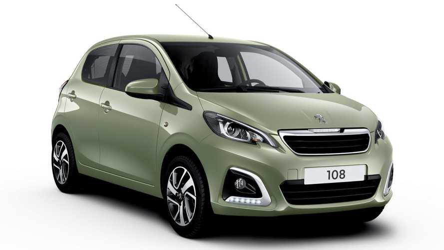 Peugeot 108 city car gets the mildest of summer updates