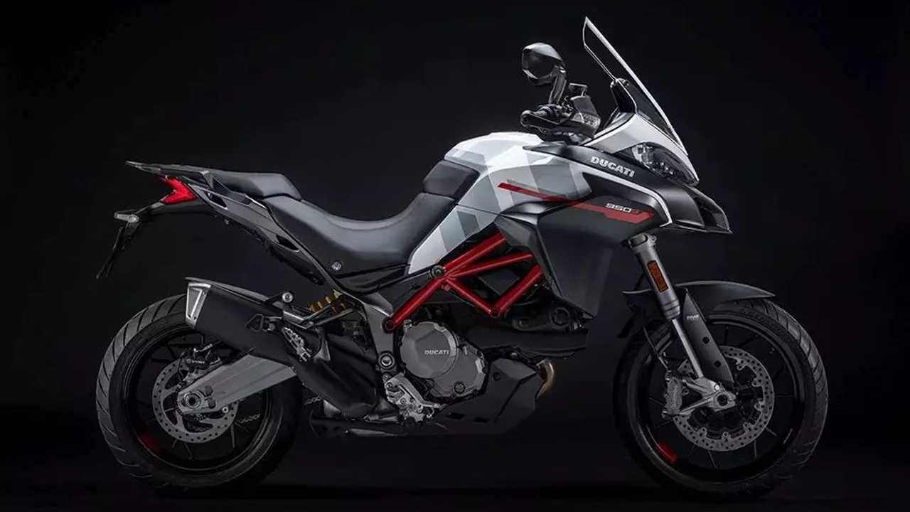 2021 Ducati Multistrada 950 S GP White