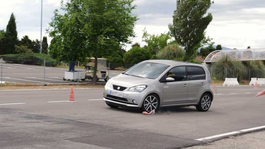 Watch SEAT Mii Electric Perform Poorly In Moose Test Avoidance Maneuver