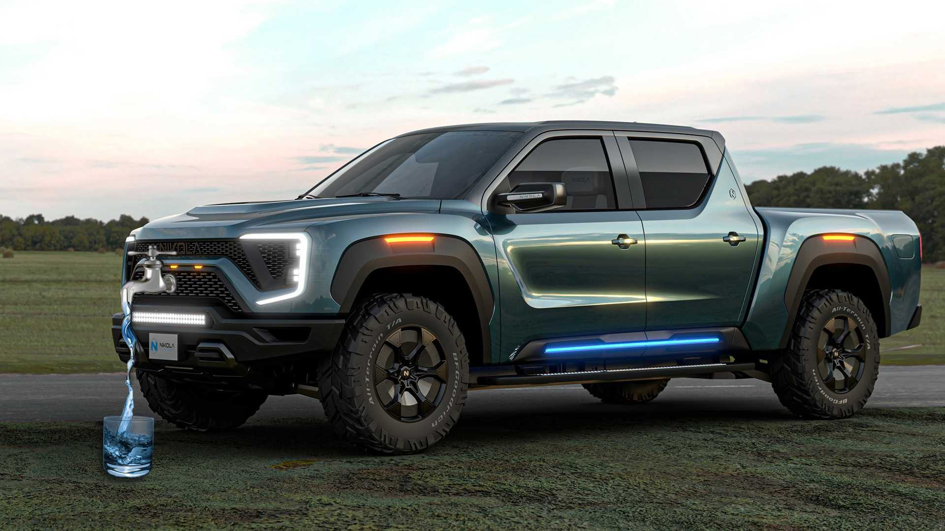 Nikola Wants You To Drink Badger Pickup Truck S Fuel Cell