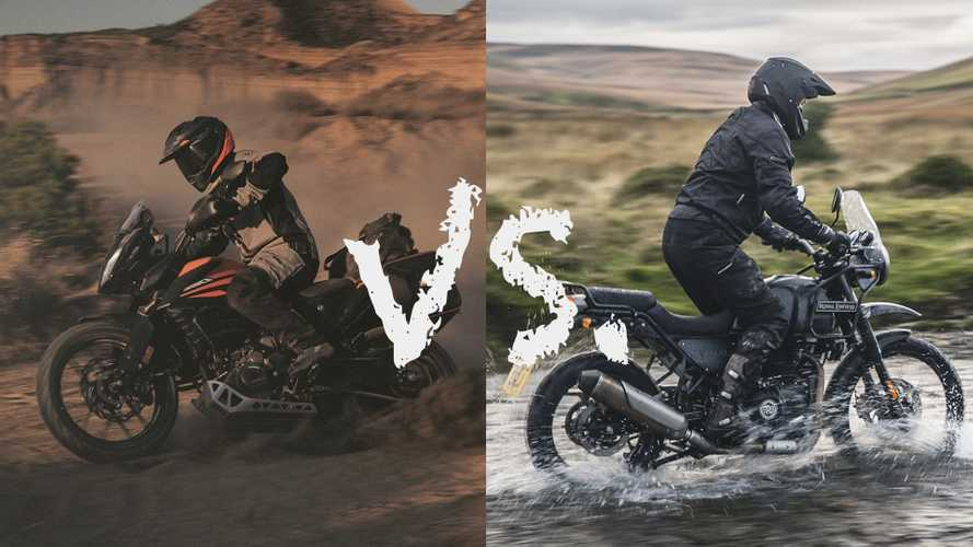 Spec Showdown: KTM 390 Adventure Vs. Royal Enfield Himalayan