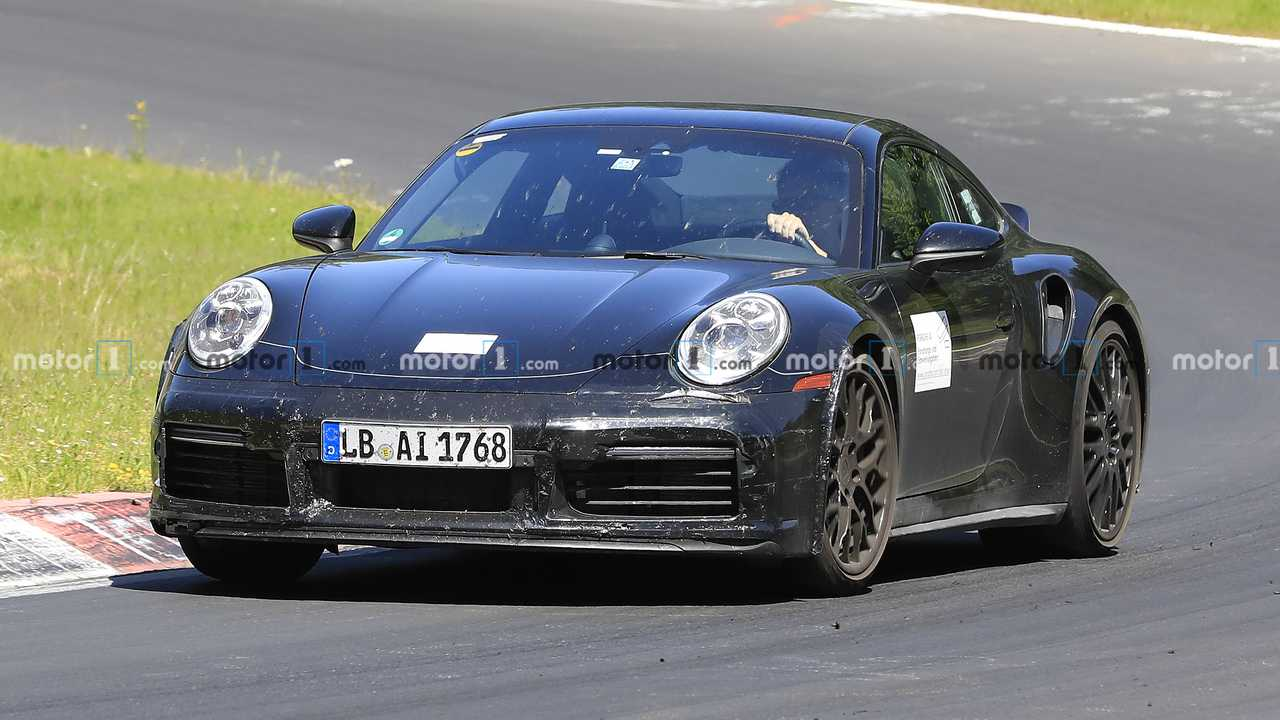 Porsche 911 Turbo Sport Classique Espion Photo