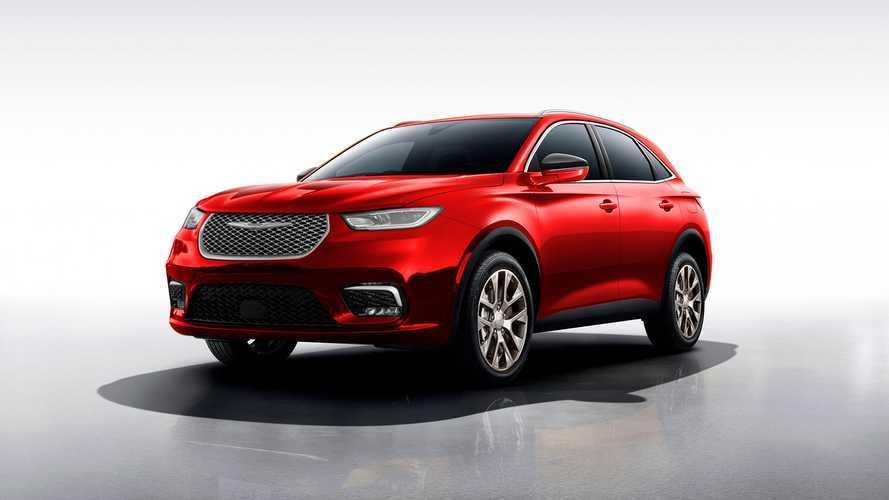 Modern Chrysler Aspen Rendering