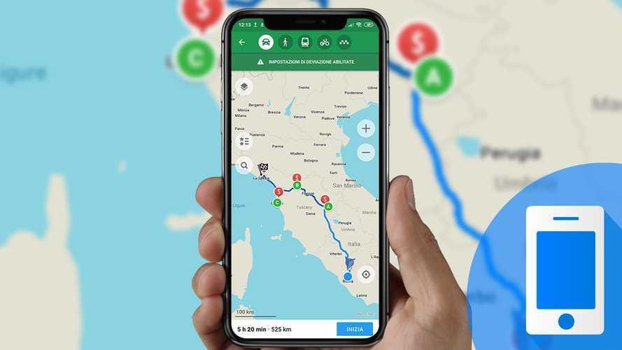 Pianificare un viaggio in auto, come funziona Maps.Me