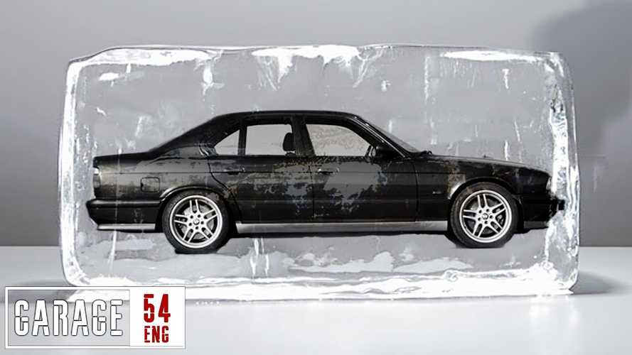 See BMW 3 Series Melt The Ice Cube It Was Trapped In