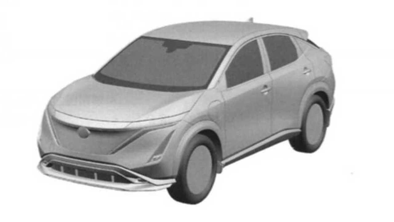 Nissan Ariya lehetséges termelési változat