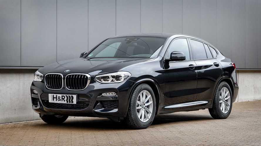 BMW X4 mit H&R-Sportfedern